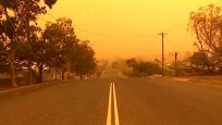 Avustralya'da gökyüzü toz bulutuyla kaplandı