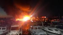 İstanbul'da 6 teknede yangın