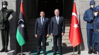Bakan Akar, Libya Savunma Bakanı Namroush ile görüştü