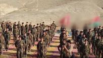 Terör örgütü PKK'nın Sincar'daki kampları görüntülendi