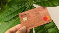 Ahşap banka kartı fikrine 1 milyon sterlin yatırım