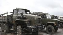 Azerbaycan'ın Ermenistan ordusundan ele geçirdiği askeri araçlar görüntülendi