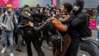 Trump destekçileriyle karşıtları arasında arbede