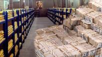 Merkez Bankası resmi rezervleri geriledi