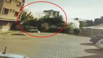 Yağcıoğlu Apartmanı'nın yıkılma anı güvenlik kamerasında