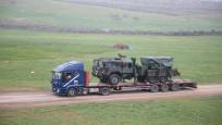 Suriye sınırına çok namlulu roketatarlar sevk edildi