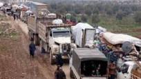 İdlib'den büyük kaçış