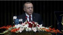 Erdoğan'ın sözleri, masaya vurularak kesildi
