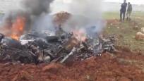Suriye'de bir rejim helikopteri daha düşürüldü