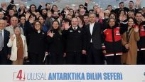 Türk bilim insanları Antartika'ya ulaştı