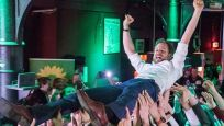 Almanya'da Yeşiller Partisi oylarını 2 katına çıkardı
