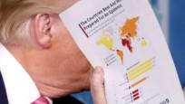 Trump'ın elindeki haritada Türkiye detayı