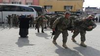 Yüzlerce komando sınıra gönderilmek üzere Hatay'da