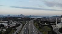 İstanbul trafiğine 'koronavirüs' etkisi! Drone ile havadan görüntülendi