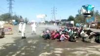 İşçilerin hortumla dezenfekte edilmesi tepki topladı