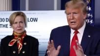 Trump korona virüs için bu defa veba dedi