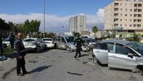 Hatay'da feci kaza: Freni boşalan TIR çok sayıda araca çarptı