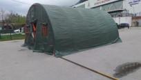 Tüm illerde hastane bahçelerine çadırlar kurulacak