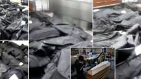 Korona hastanesindeki ceset torbaları tüyler ürpertti!