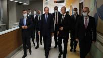 Erdoğan, açılışı yapılan Başakşehir Çam ve Sakura Şehir Hastanesini gezdi