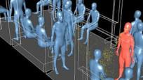 Bilim insanları korona virüsün metroda nasıl yayıldığını canlandırdı