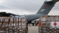 Türk askeri kargo uçağı Çad'a yardım taşıdı