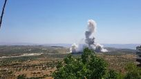 İdlib'de TSK konvoyunun geçişi sırasında patlama oldu
