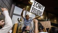 ABD'deki polis şiddetine protestolarda slogan: Nefes alamıyorum