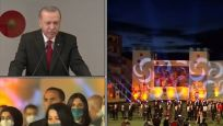 Cumhurbaşkanı Erdoğan fetih kutlamalarında konuştu