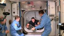 SpaceX'in astronotlu ilk seferi tam isabet