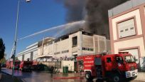 Kocaeli'de fabrika yangını!