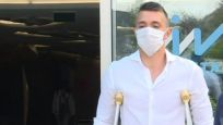 Muslera'dan hastane çıkışında ilk açıklama
