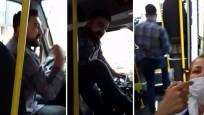 Minibüste şoföre maske uyarısı yapınca hakarete uğradı