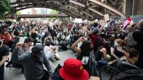 ABD'deki protestoların 8. gününde şiddetin dozu düştü