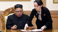 Bu defa Kim'in kız kardeşi tehdit etti