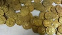 Tokat'ta 300 altın sikke ele geçirildi