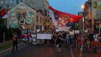 Sırbistan'daki protestolar 5 gündür devam ediyor