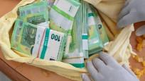 Türk yolcunun yastıklarından 400 bin euro çıktı