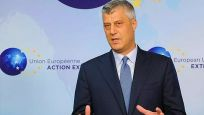 Kosova lideri Taçi ifade vermek için Lahey'de