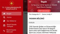 Cumhurbaşkanlığı kararı Resmi Gazete'de