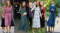 Kate Middleton'ın elbiseleri olay oldu! Büyükannenin dolabından...