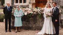 Sürpriz kraliyet düğününden ilk kareler geldi