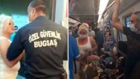 Ankara Metrosu'nda 'maske' gerginliği
