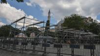 Ayasofya'da ilk namaz için hazırlıklar sürüyor
