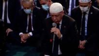 Erdoğan, Ayasofya Camii'nde Kur'an-ı Kerim okudu