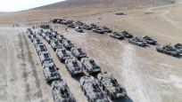 Tanklar yan yana dizildi! Türkiye görüntüyü paylaştı...