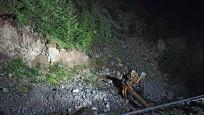 Gümüşhane'de heyelan felaketi! 2 kişi hayatını kaybetti