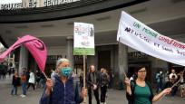 Belçika'da 5G karşıtı gösteri düzenlendi