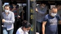 Esenyurt'ta manzara aynı! 14 kişilik minibüste 30 kişi