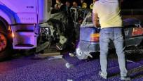 Ankara'da feci kaza: Ölü ve yaralılar var